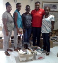 Love Packages donated to Barbados churches by Eagles Nest Ministries