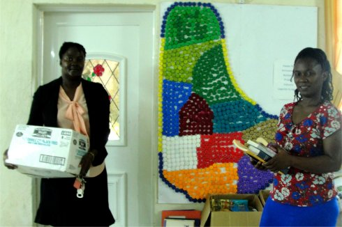 Love Packages donated to Barbados Sunday Schools by Eagles Nest Ministries