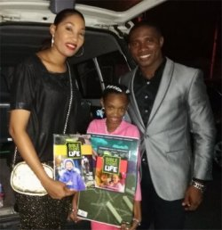 Love Packages donated to Barbados sent as far afield as Grenada to Pastor Happy Akasie a missionary in Carriacou part of the tri island state of Grenada