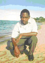 Seen here and above Pastor Lotie our Africa Representative on the shores of Lake Malawi