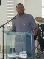 Apostle David Durant, seen here, is the founder of Restoration Ministries International