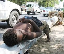 However, a UNICEF study in 2005 noted that 10 million of children in the world live in the street and the problem is most prevalent in African countries such as Ethiopia, Uganda