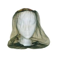 An insect head net to keep out flying insects, such as mosquitoes.