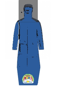 The HopePAK back pack transforms into smart fashonable jacket, then into a raincoat and eventually into a sleeping bag