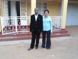 Hope Guest House is home to Rev Abraham and his beautiful wife Maggie