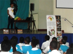 Project Hope Barbados Alexandra School project sponsoring African children bringing hope to refugee street children child soldiers and abused girls