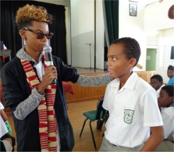 Project Hope Barbados Lester Vaughan School  project sponsoring African children bringing hope to refugee street children child soldiers and abused girls