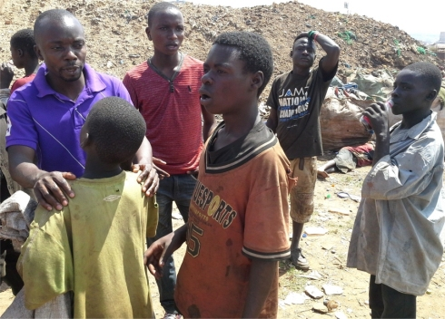 Project Hope African Child Care Centres hope for refugee street children boy soldiers and abused girls