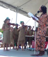 African Heritage Celebration in Barbados St Gabrials Secondary School