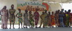 Africa Heritage Celebration at Garrison School