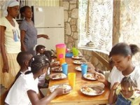 After School Club feeding program is up and operationa