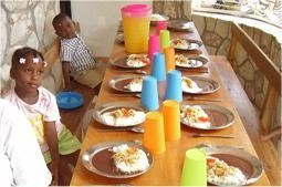 The Feeding Program has started in Jacmel, Praise God your help is needed to build on this.