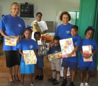 Children from the Caribbean Development Bank After School Club