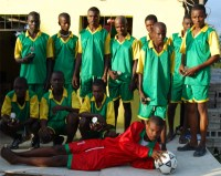 Restoration Ministries Haiti football team