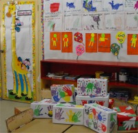 Thanks to the children of Erdistan Nursery School that beautifully hand painted these shoeboxes for the children of Haiti.