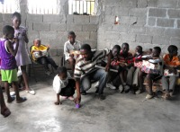Upper Room Orphanage, Bon Repos, Port au Prince, Haiti.