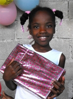 Thanks to the inmates of Dodds Prison in Barbados that so beautifully wrapped hundreds of shoeboxes for the project.