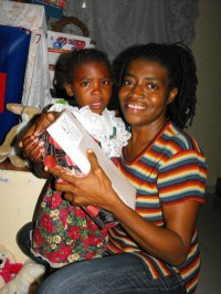 Thanks to Greta St Hill who has a great love in her heart for Haiti.