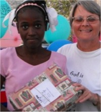 Thanks to Abundant Life Assembly that once again this year prepared hundreds of Make Jesus Smile shoeboxes which were distributed all over Haiti.