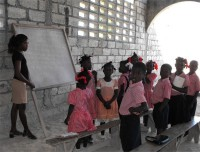 Maranatha Ministry school taking place in the church