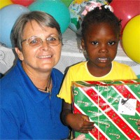 Thanks to the children of Power in the Blood that wrapped and packed these beautiful Make Jesus Smile shoebox for the children of Haiti.