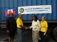 Last year Eric Hassel and Son and Seaboard Marine supplied us with a 40' container and shipped it packed full to Haiti with not only shoeboxes but numerous items too many to mention. THANK YOU!