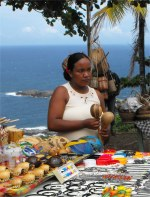 Dominica's Caribs now live in eight villages within the 3,700 acres of land on the east coast of Dominica known as the 'Carib Territory'.