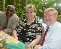 Michael and Denie Riggs working in association with Pastor Richardo Taylor of Carrington's Wesleyan Holiness Church
