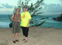 Denie and Jenny the Founder of United Caribbean Turst