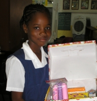 The children of Erdiston Primary School took part enthusiastically in the Easter Make Jesus Smile shoe box project.
