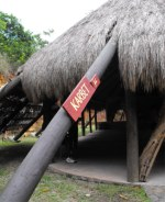 The Kalinago Barana Auté (Carib Cultural Village by the Sea) in the Dominica Carib territory