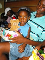 Summer 'Make Jesus Smile' party where shoeboxes packed by the children of Barbados were distributed.
