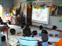 The Destiny Pre-School is located on the North East coast of Marigot, Dominica