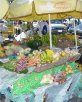 The Commonwealth of Dominica  street market