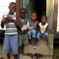 Underwear distribution in Suriname