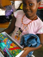 Make Jesus Smile shoeboxes in Suriname