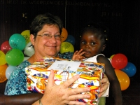 As the children received their Make Jesus Smile shoeboxes they were photographed and documented and web pages created to establish the Child Sponsorship Program.