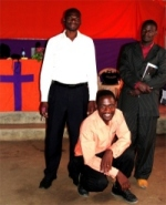 Pastor David with other House of Freedom pastors from DR Congo, Zambia