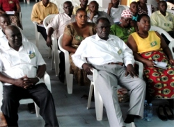 The Bishop and his wife from Zambia traveled to Dar Es Saleem for the KIMI Leadership training