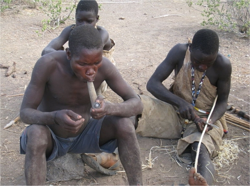 The Hadzabe tribe this tribe is an un reached tribes according to Joshua projects