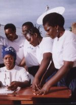Tanzania womens empowerment sewing ministry