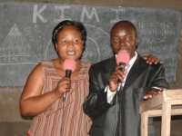 Pastor Martina then traveled with the KIMI team to western Uganda to Bugini for the last KIMI Leadership Training.