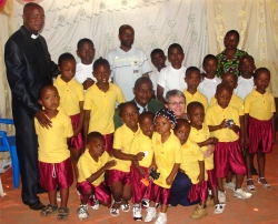 This choir is led by Bishop Pinos (left) and has a deep desire to touch other children in Uganda and DR Congo with the Good News of Hope in Christ Jesus.