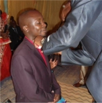Pastor. Abraham Kisembo was ordained and consecration as Reverend in July 2013 by Bishop Edmond Pinos.
