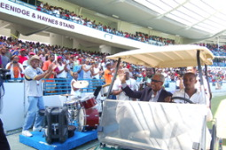 Welcome Home! As Kensington Oval reopened