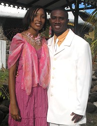 Meet Pastor Happy from Africa and his wife Sister Denise, from Barbados.