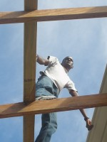 WYAM in Carriacou 2006 on the roof