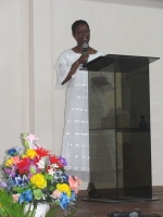 Dr B ministered at Kingdom First International church in Barbados