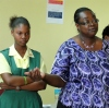 Dr B visits The Parkinson Memorial School in Barbados