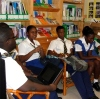 Dr B visits St Michaels School in Barbados